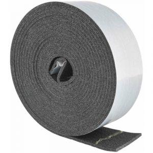 Joint adhésif PE 3 x 50mm x 5m, gris, isolation tuyau extérieur - GEKO