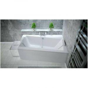 Baignoire angle droit ZIANIGO avec tablier - Dimensions: 150 cm - AZURA HOME DESIGN