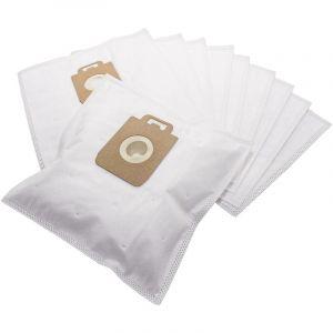 vhbw 10x sacs d'aspirateur, matière non tissée pour aspirateur Philips Juwel, Mobilo, Performer, SilentStar