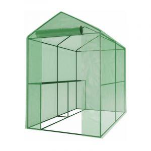 Serre de Jardin - Avec étagères - 2,26m2 - GREEN ROOF