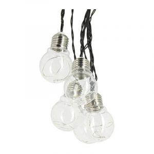 Guirlande d'ampoule LED P45 - 5 m - RVB - XANLITE