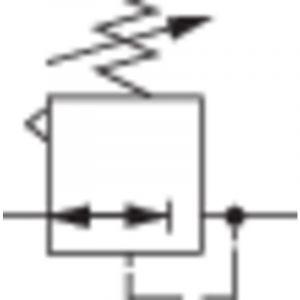 Régulateur de pression réglage 0,3 - 7 bar connexion G1/4 Norgren R07-200-RNKG