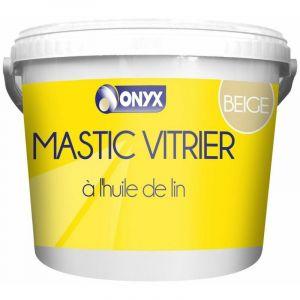 Mastic vitrier à l'huile de lin beige 5kg - ARDEA