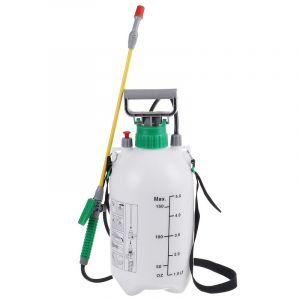 Jet de pompe chimique de désherbant d'engrais de jet d'eau du pulvérisateur 5L de pression de jardin - ZEBRAA