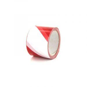 Ruban de signalisation rouge et blanc 100m - DIVERS