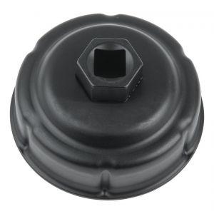 KS TOOLS 150.9406 Cloche pour filtre à huile Ø 76,0 mm / 6 rainures - KSTOOLS