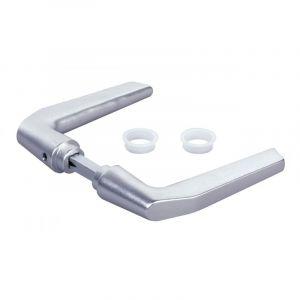 Locinox - Béquille double en aluminium pour serrure de grille, 2 portées