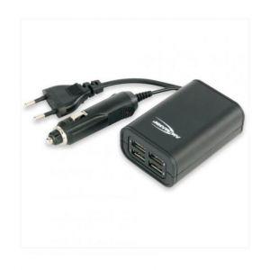 Quatro Chargeur USB Universel ANSMANN