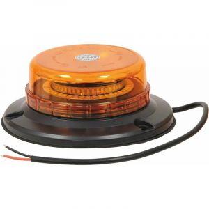 Gyrophare Led Double Flash Extra Plat 12/24V 45Leds A Plat S16310 - SODIFLASH