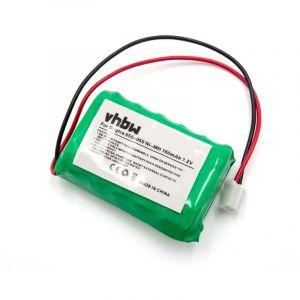 vhbw Batterie NiMH 160mAh (7.2V) pour dresseur de chiens Dogtra FT-100, SD-400, SD-400s