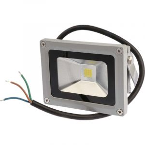 Projecteur à LED RS PRO, IP65, 1 LED, 10 W, 800 ? 900 lm, 85,7 x 114,3 x 88,8 mm