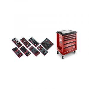 ROLL6M3.CMAG Sélection de 135 outils pour la maintenance agricole plus servante 6 tiroirs ROLL 6 tiroirs - FACOM