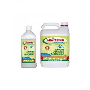 Saniterpen 90 - Desinfectant Désignation : Saniterpen 90 | Conditionnement : 5 litres Saniterpen 460108