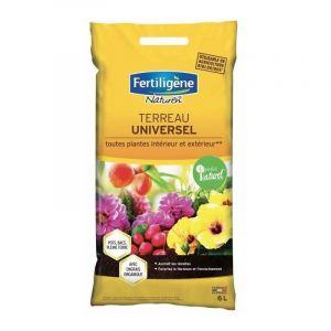 Terreau universel toutes plantes UAB Fertiligène - Sac 6 l - FERTILIGENE