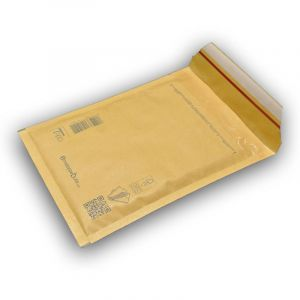 Lot de 50 Enveloppes à bulles PRO MARRON CD format 145x175 mm - ENVELOPPEBULLE