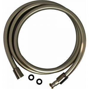 Flexible PVC double attache conique anti-torsion FLE150 / FLE200 | 150 cm - Nickel phosphore - Pollini Acqua Design