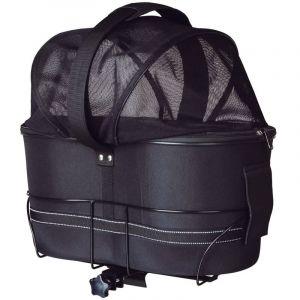 TRIXIE Panier arrière de vélo pour animaux compagnie 29x49x60 cm Noir