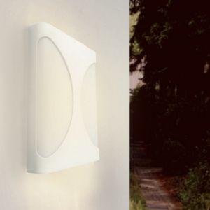 Applique Murale LED blanche 18W IP44 - Blanc Neutre 4000K - 5500K - SILAMP