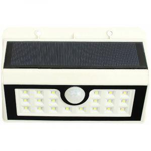 Lumière solaire de jardin Applique solaire extérieure à induction solaire pour corps humain (blanc= - Perle Rare