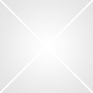 Table Ovali Blanc/Chrome, Dim : 180 x 90 x 74 cm -PEGANE-
