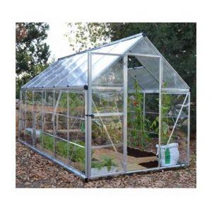 Serre de jardin HYBRID 6x12 vert - 6.8m² - PALRAM