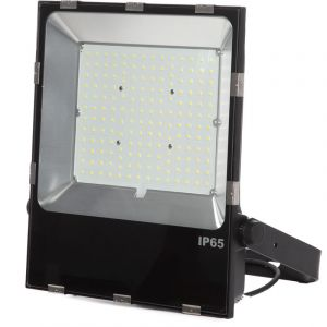 Projecteur Led Slimline Lumileds LED 3030 150W 18000Lm IP65 50000H | Blanc froid (1916-NS-HVFL150W-CP-CW) - GREENICE