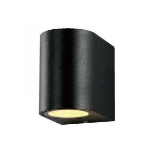 Applique Ronde Spot GU10 Aluminium Noir - OPTONICA