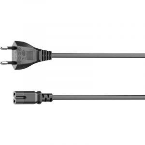 Câble dalimentation secteur euro Sonos PLAY:3/PLAY:5, droit, 5 m, noir - HAMA