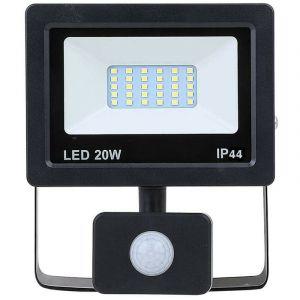 Projecteur LED avec détecteur de mouvements 20 W
