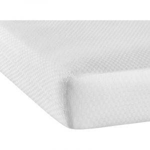 Belle housse de protection élastique hygiénique jusqu'à 30 cm d'épaisseur | Blanc - 120 cm