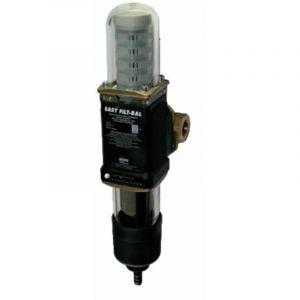 """Antitartre magnétique et filtre de protection à rétrolavage - Raccordement 3/4"""" - Débit nominal 1,2 m3/h* - Cotes en mm : - Longueur de montage 180 - Largeur de l'appareil 78 - Hauteur au-dessus du milieu de la conduite d'eau 187 - Hauteur au-dessous du m"""