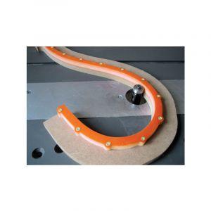 CMT : Gabarit de chantournage multicourbe 1000 section 18 x 18