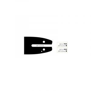 Guide Chaine Tronçonneuse Black&Decker 30cm 3/8 Lp .050 (1,3mm). - BLACK & DECKER