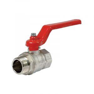 Vanne laiton nickelée - MF 2' - Itap