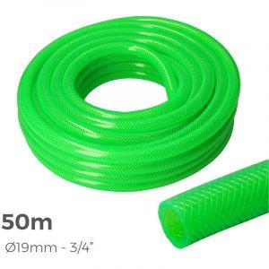 Tuyau d'arrosage EDM - Diamètre 15 mm - 50 m - Anti UV