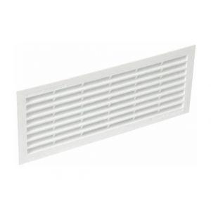 Grilles de ventilation rectangulaires à encastrer 96 x 275 mm - avec moustiquaire - NICOLL