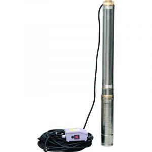 Drakkar Equipement - POMPE IMMERGÉE DE PROFONDEUR 1100W 128Mtrs 19 TURBINES -EAUX CLAIRES-DRAKKAR 08111
