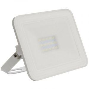 Projecteur LED Extra-Plat Crystal 10W Blanc Blanc Neutre 4000k-4500K - LEDKIA FRANCE