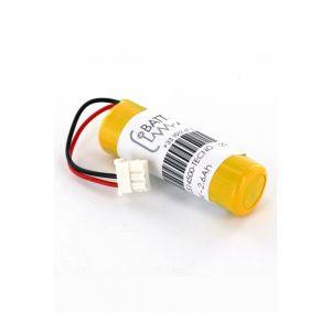 Pile 3.6V Lithium pour alarme TecnoAlarm TX110, TX120, TX210, TX310