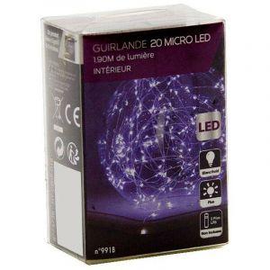 OSE - Guirlande cuivre LED à piles multicolore 2.1 mètres