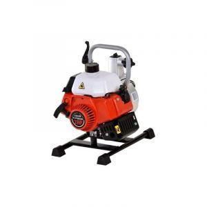 DCRAFT - Pompe à eau thermique débit 300 L/min - Pompe à l'eau claire + chargée Puissance 2 CV - Relevage d'eau Jardinage - Rouge