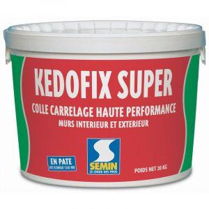 Colle carrelage haute performance Semin Kedofix Super - seau 20 kg