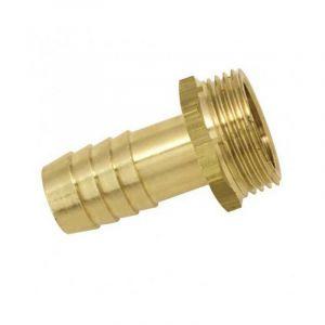 Embout mâle laiton (15 - 12 x 17 - 16,5) - Ø tuyau mm : 15 - Filetage : 12 x 17 - BOUTTé