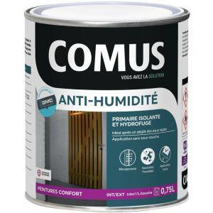 Comus - Peinture isolante et hydrofuge ANTI-HUMIDITE 0,75L Mat Blanc - 17974