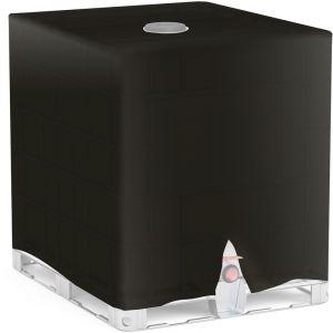 Wiltec - Container IBC Bâche de protection Capôt protecteur Bâche Protection de pluie Citerne d'eau 1000 l