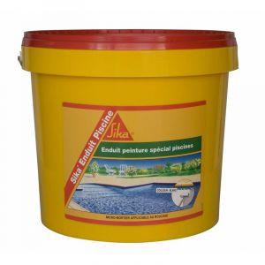 Complément d'imperméabilisation pour piscine SIKA Enduit Piscine - Blanc écume - Kit 6,16kg