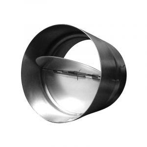 Clapet anti-retour 254mm métal , conduit de ventilation - WINFLEX VENTILATION