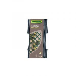 Treillis extensible en PVC 1 x 2 m gris TREILLIFLEX - NORTENE