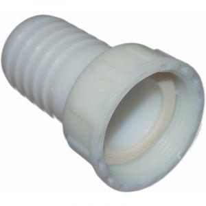 Raccord cannelé polyamide écrou libre 40 x 49 pour tuyau 40mm - CODITAL