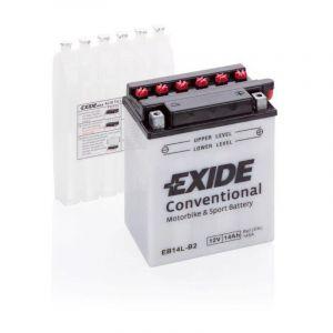 Batterie moto Exide EB14L-B2 YB14L-B2 12v 14ah 145A